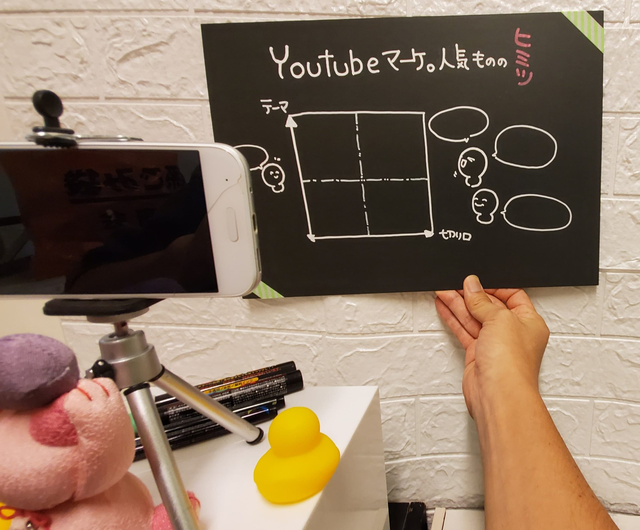 Youtubeマーケで発見。人気者が取り扱うテーマと切り口